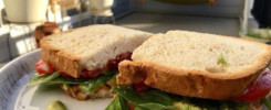 PAN Vegan BLT